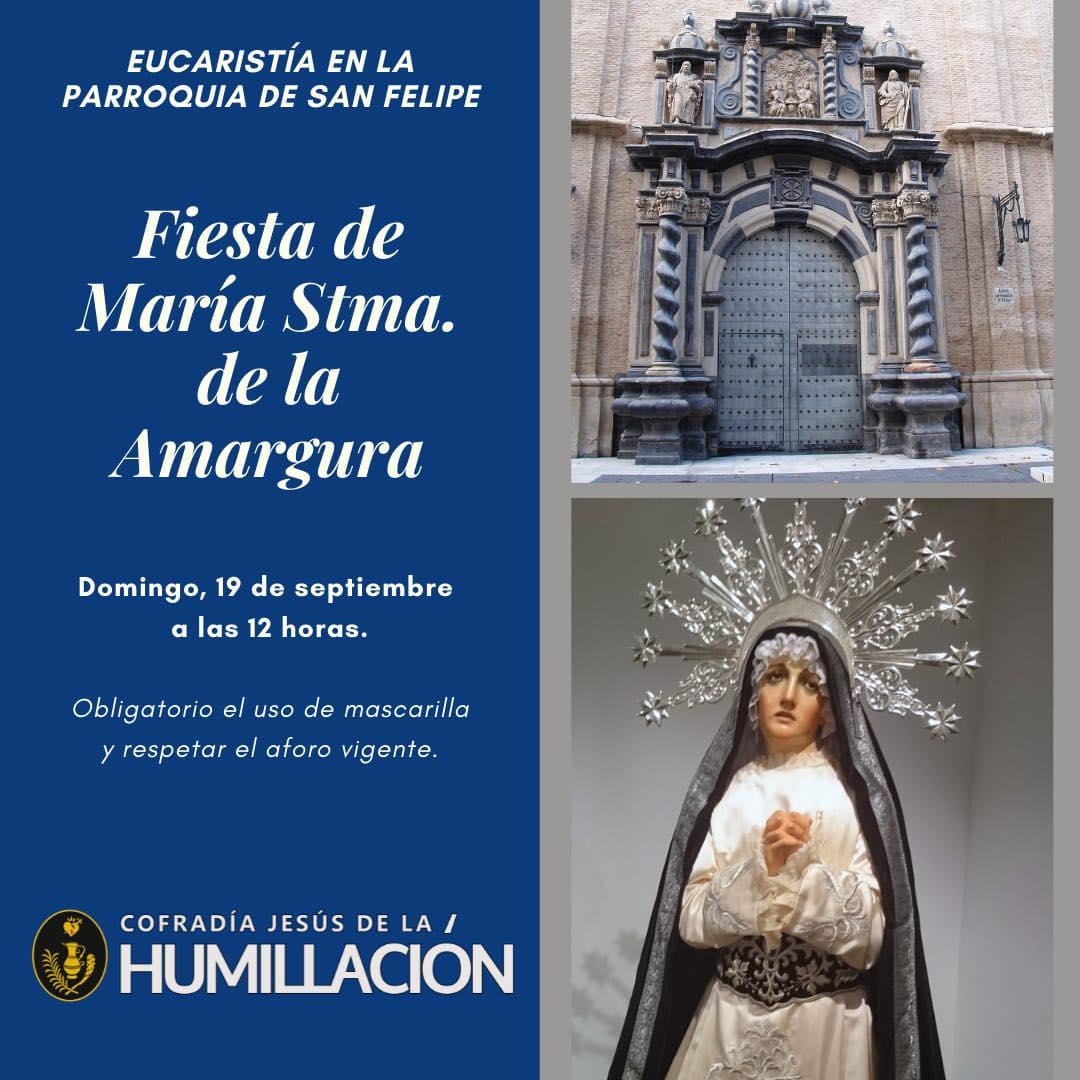 Fiesta de la Virgen de la Amargura
