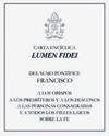 """Carta Encíclica """"Lumen Fidei"""""""