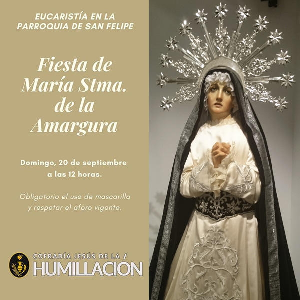 Fiesta de María Stma. de la Amargura