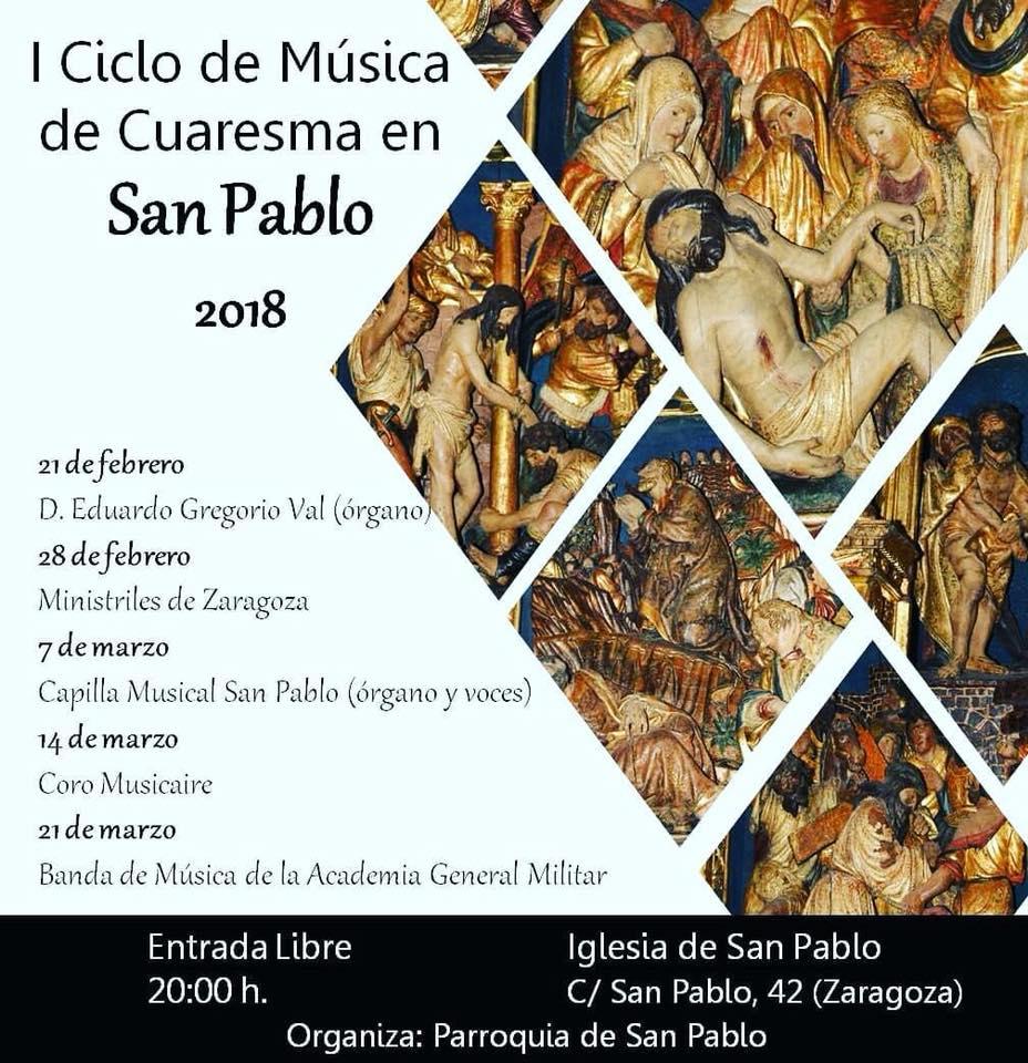 Ciclo de Música de Cuaresma en San Pablo