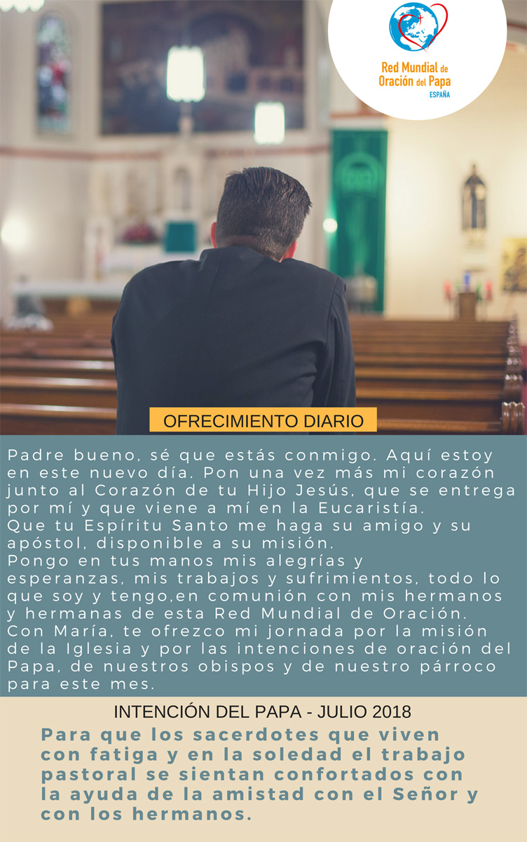 Intenciones del Papa Francisco